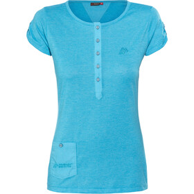 Maier Sports Clare T-Shirt Damen hawaiian ocean